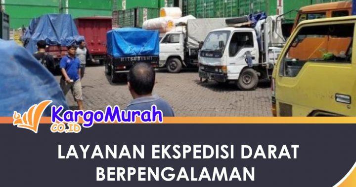 layanan cargo darat berpengalaman