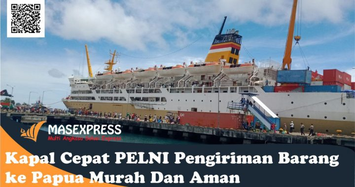 Kapal Cepat PELNI Pengiriman Barang ke Papua Murah Dan Aman
