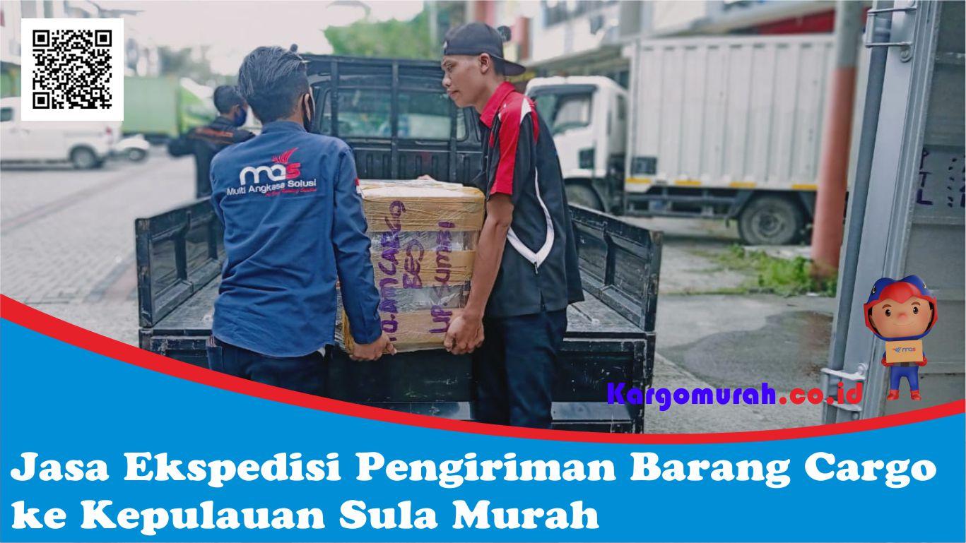 Jasa Ekspedisi Pengiriman Barang Cargo ke Kepulauan Sula Murah